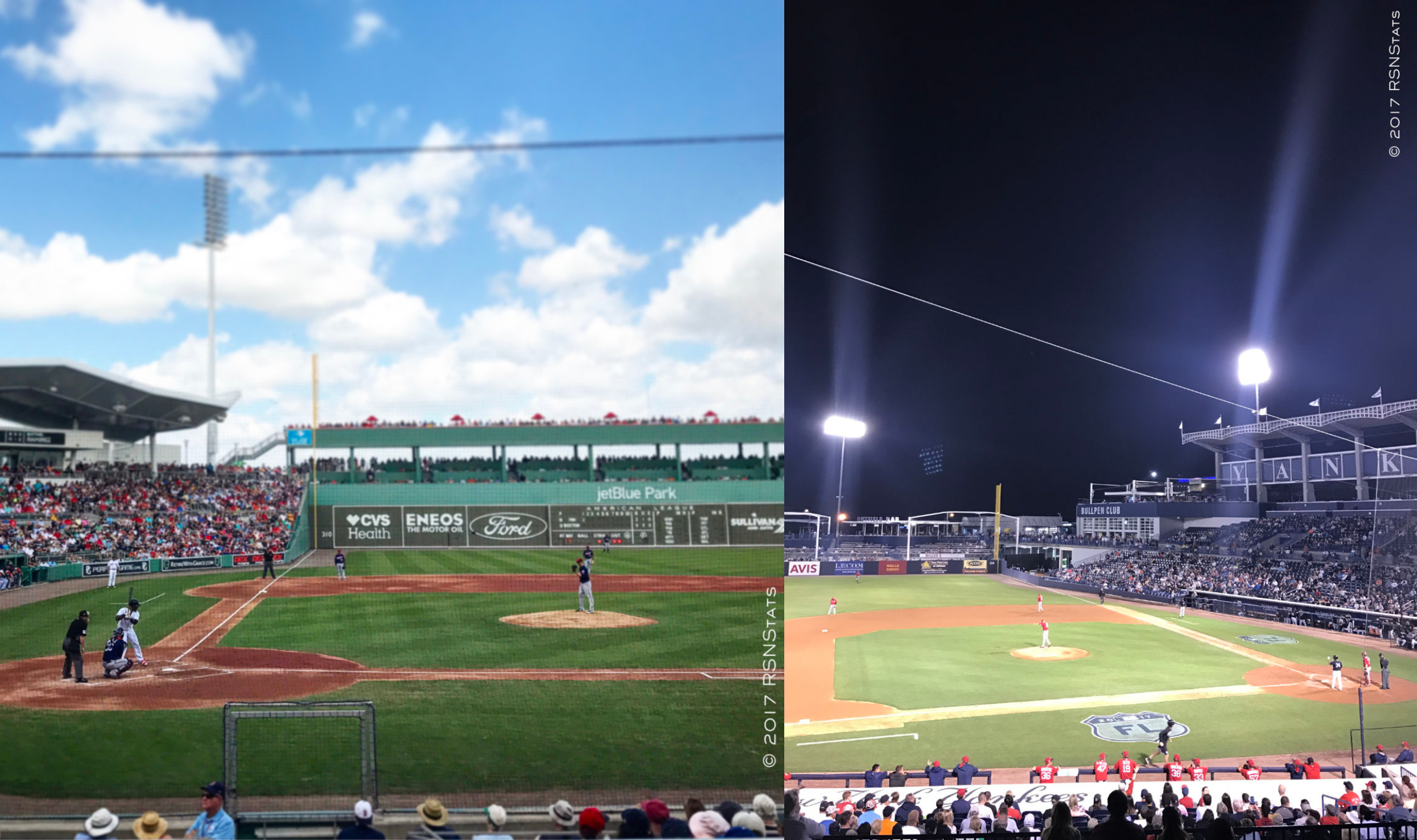 Red Sox Spring Training at home and on the road.