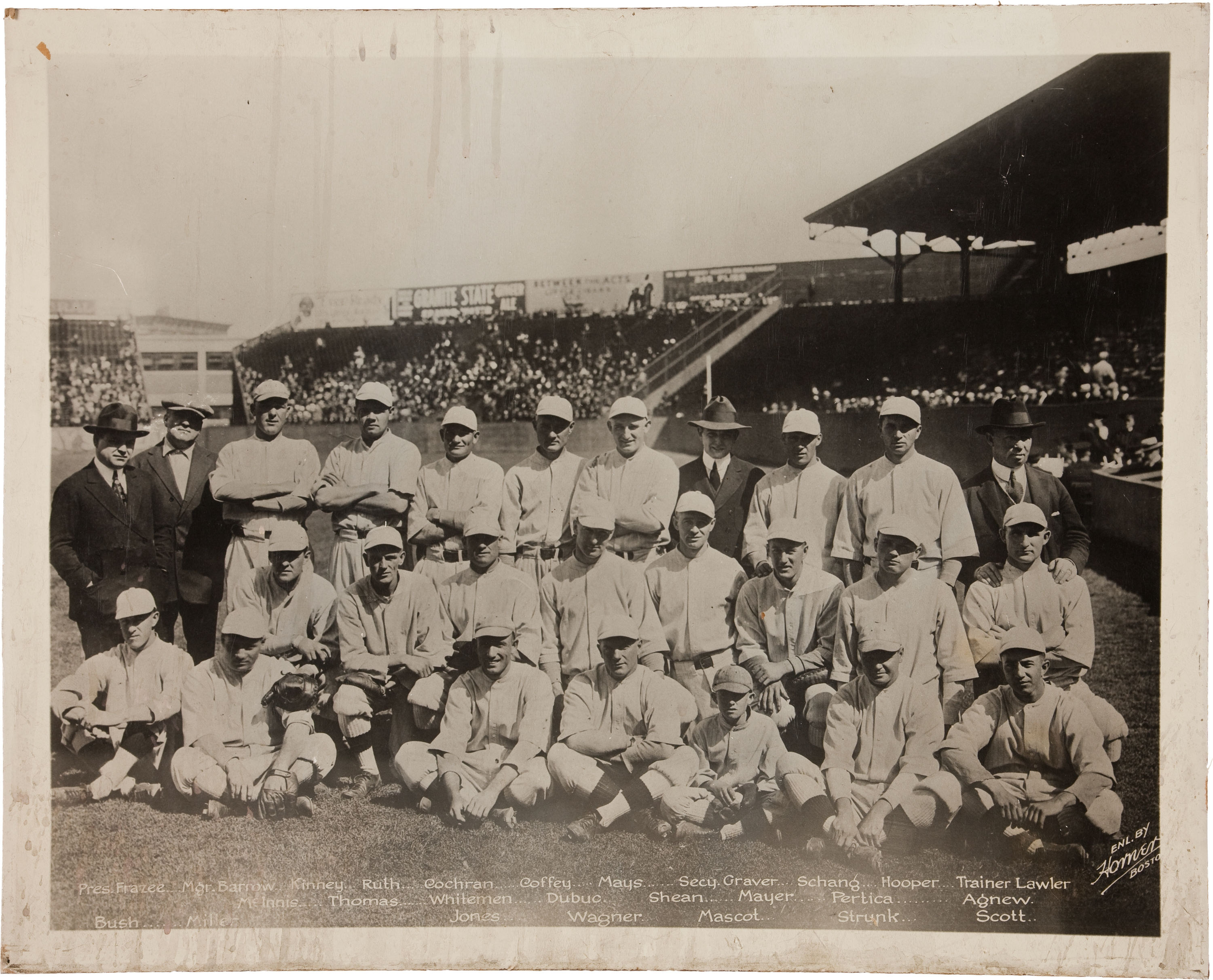 1918 World Champion Boston Red Sox